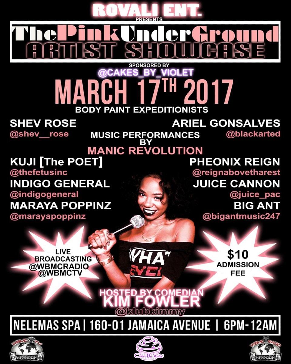 Nelema March 17th Event
