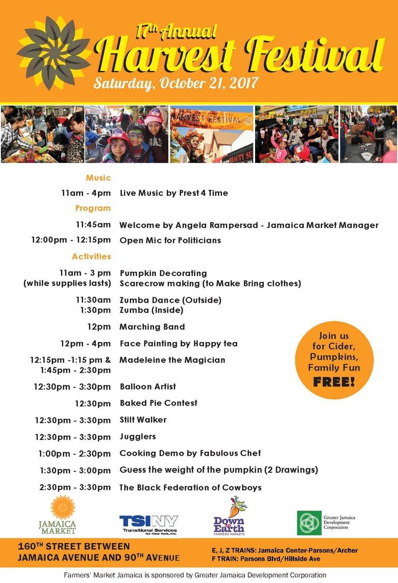 Harvest Festival - Jamaica Center BID