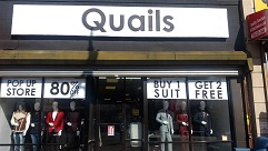 New Business Quails Men's Clothing Store UPDATE3
