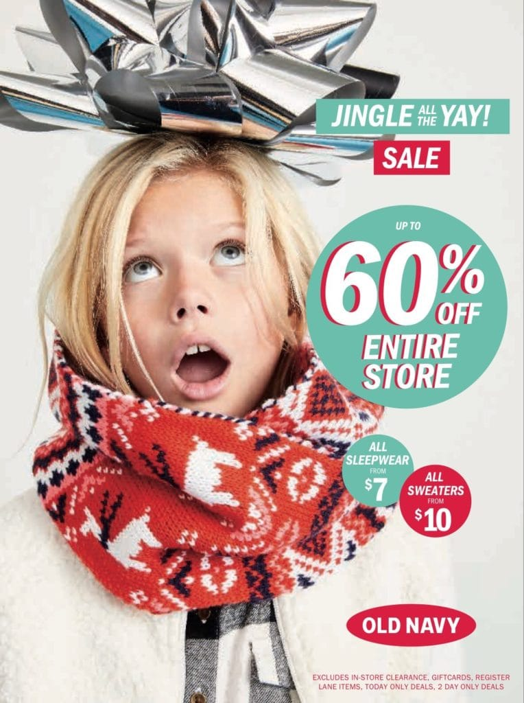 Old Navy December Campaign