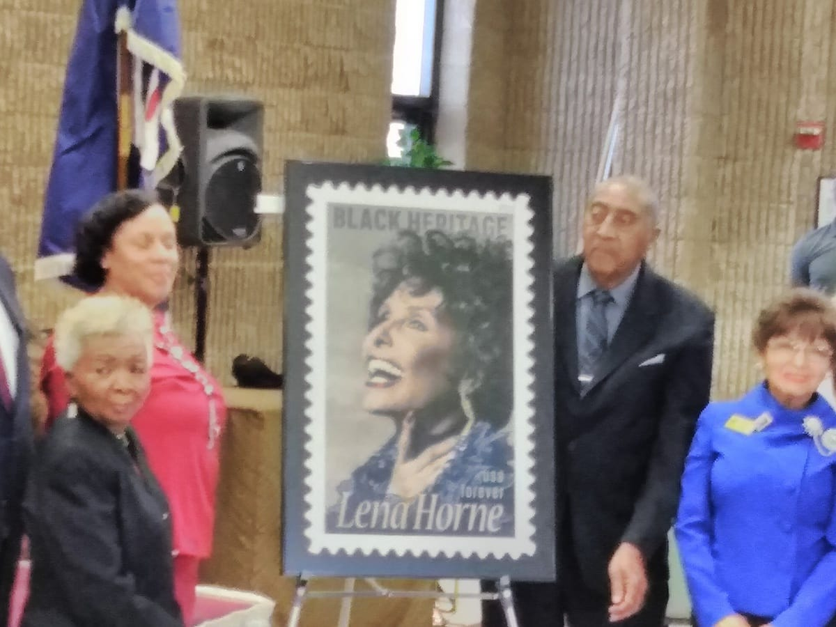 Event - Lena Horn Stamp Unveiling 2018 UPDATE 3