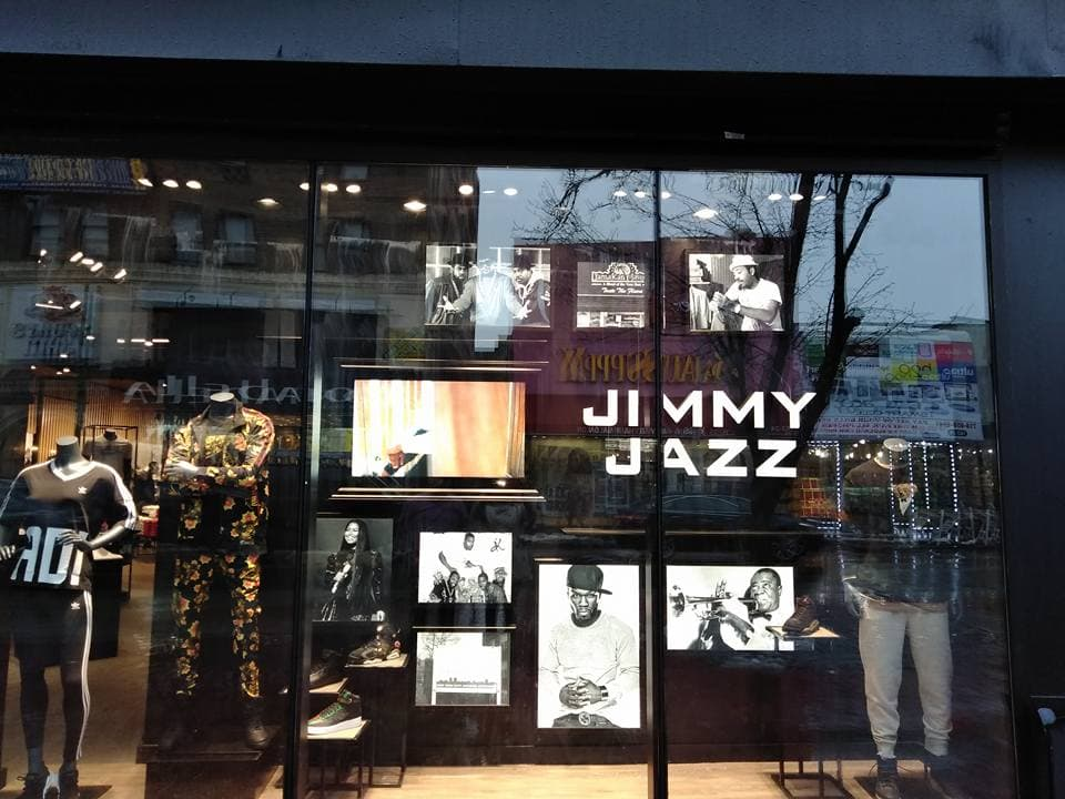 Jimmy Jazz Heritage Wall