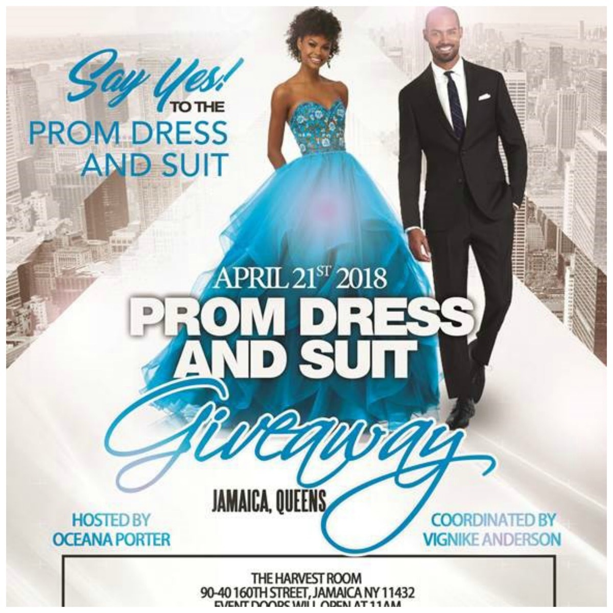 Save-the-Date: Say Yes To The Prom Dress And Suit Giveaway ...