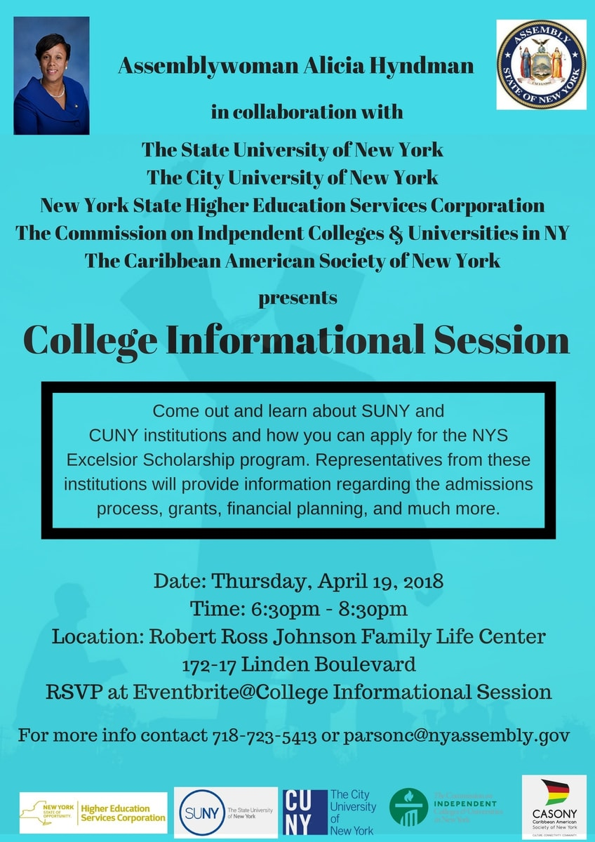 Event - Alicia Hyndman - College Informational Session