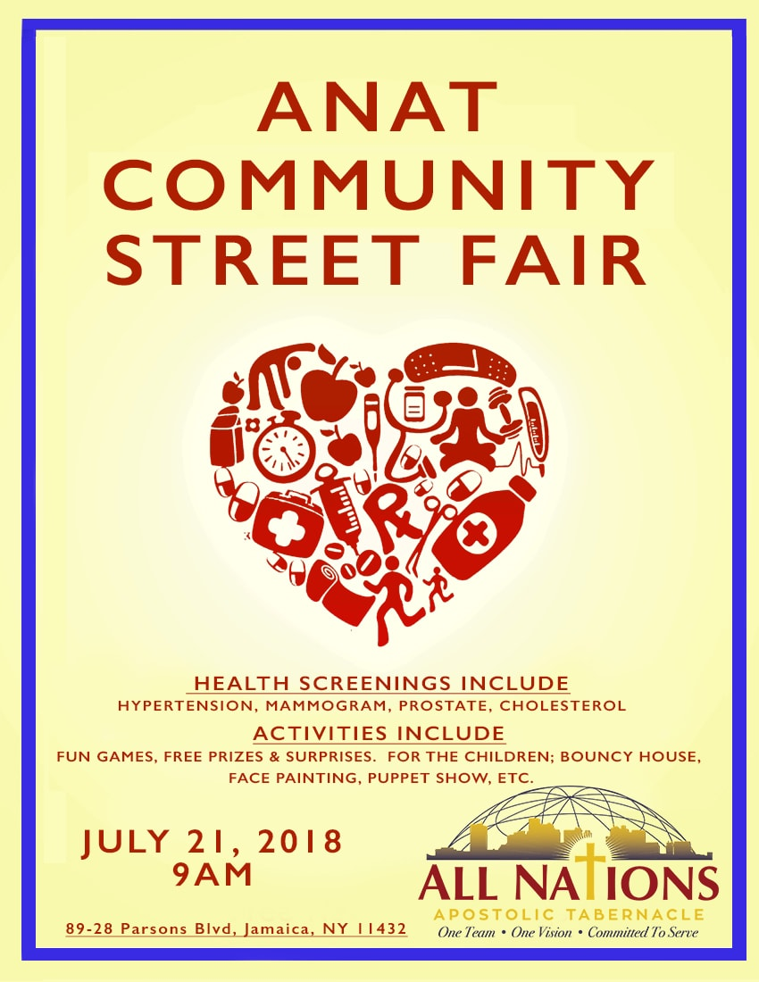 All Nations Health Fair Flyer - UPDATE