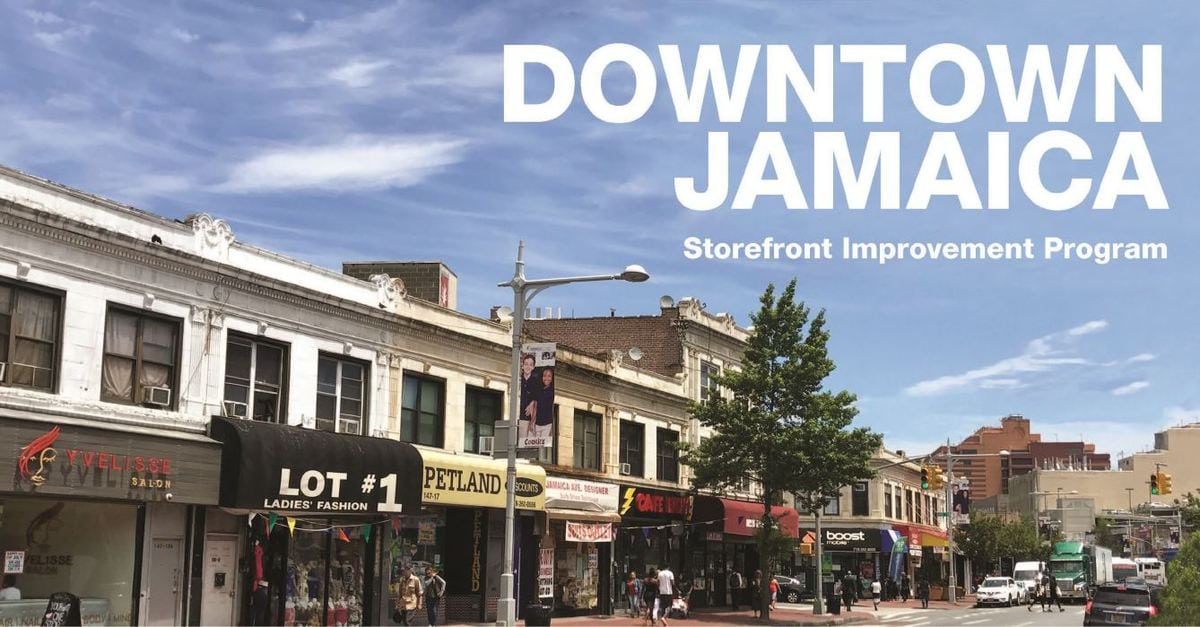 Storefront Improvement Program - Jamaica Center BID