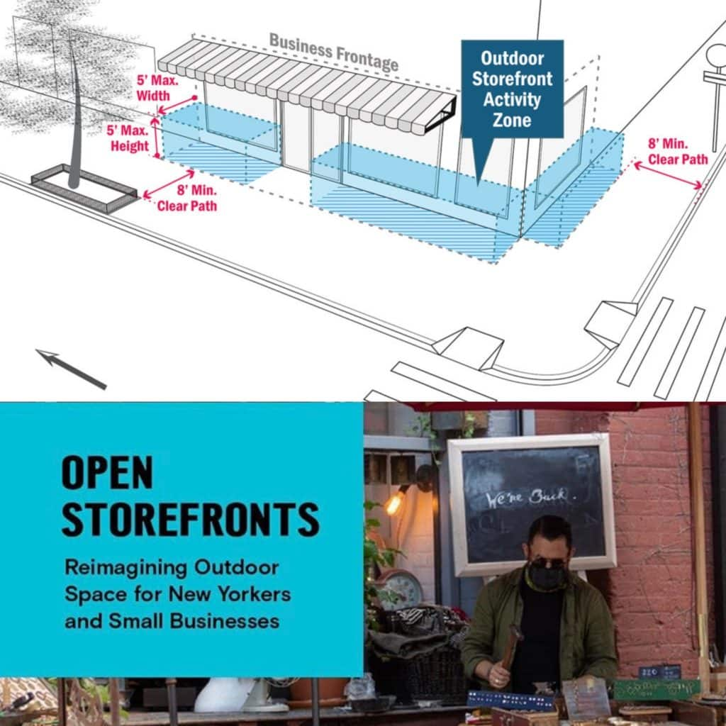 Open Storefronts Reimagining Outdoor Space For New Yorkers Small Businesses Jamaica Center Bid